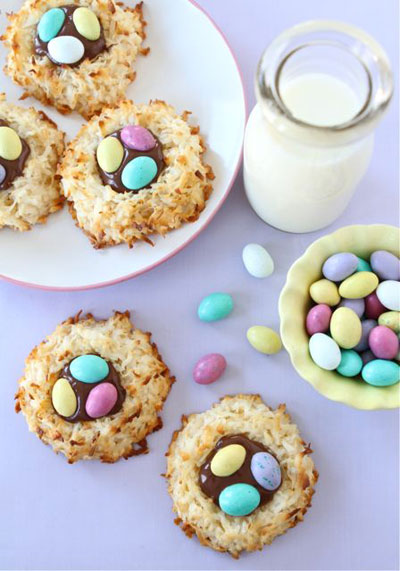 Coconut-Nests-Cookies